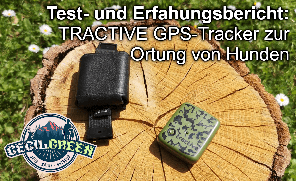 Tractive GPS Tracker Hundeortung